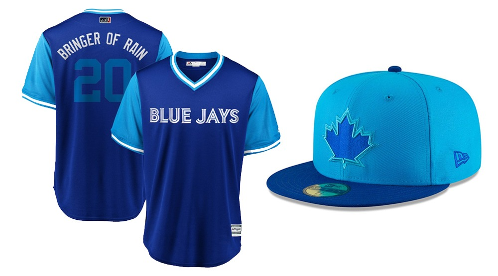 Blue jays players weekend uniform cap