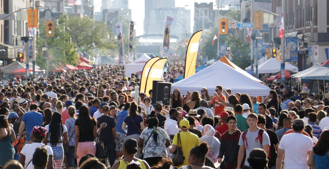Taste of the Danforth festival