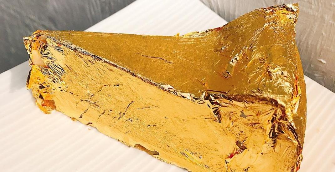 Gold cheesecake