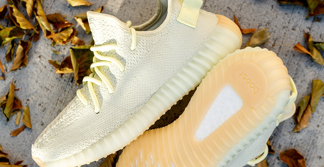 Win a pair of Adidas Yeezy 350 V2 Butter sneakers