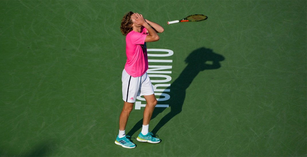 Greek teenager Tsitsipas makes Rogers Cup final despite losing track of the score