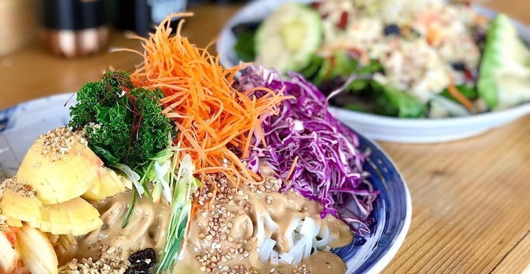 Vancouver's newest vegetarian market and cafe opens today