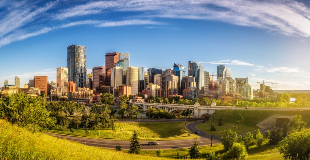 Calgary's warm weather on Friday broke heat record