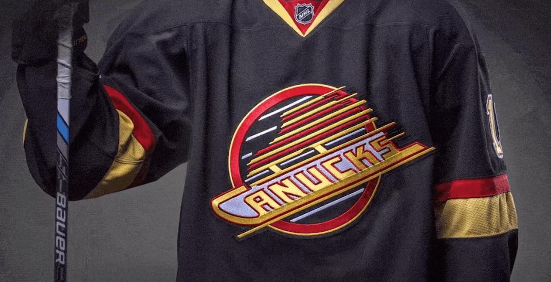 Canucks skate jersey