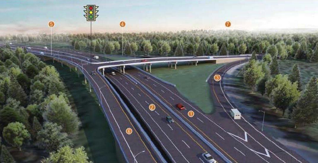 New Highway 91 and 72 Avenue interchange in Delta opens