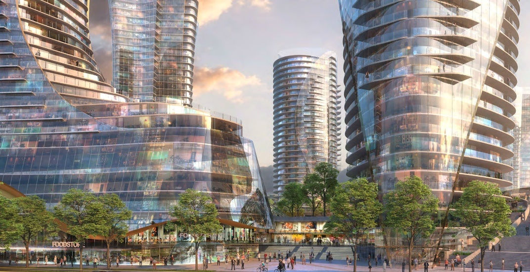 The future of Oakridge Centre: New renderings show surreal architecture
