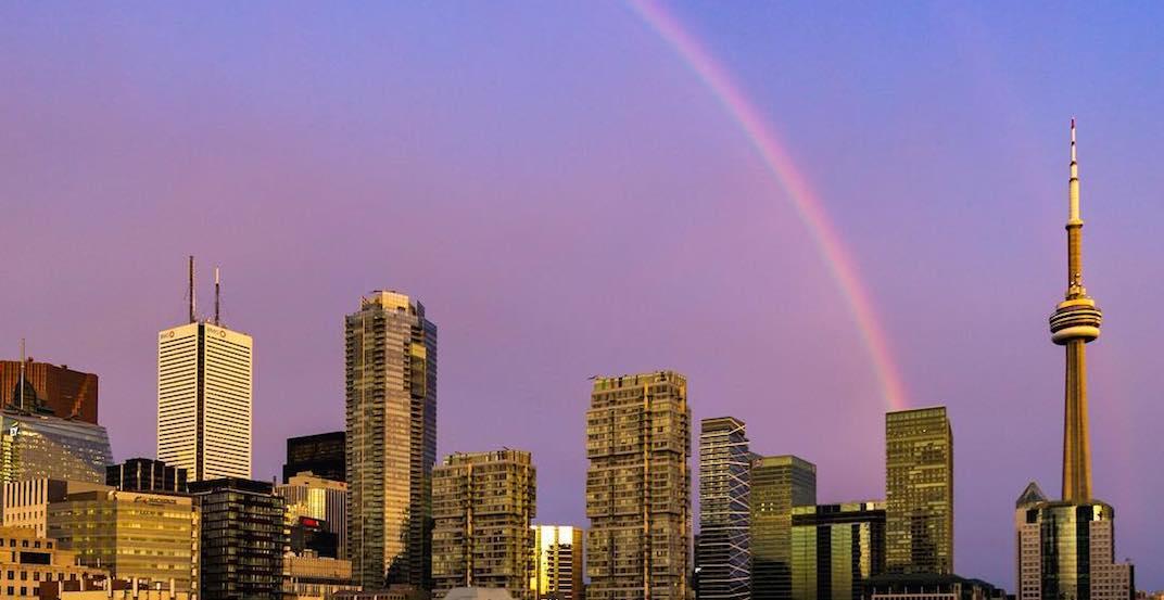 15 shots of last night's stunning rainbow over Toronto (PHOTOS)