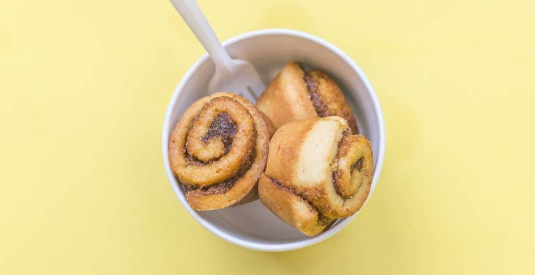 Deep-fried cinnamon buns are now available in Toronto
