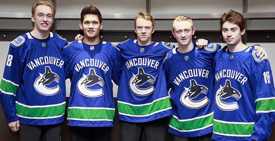 Here's where all the Canucks' top prospects will be playing next season