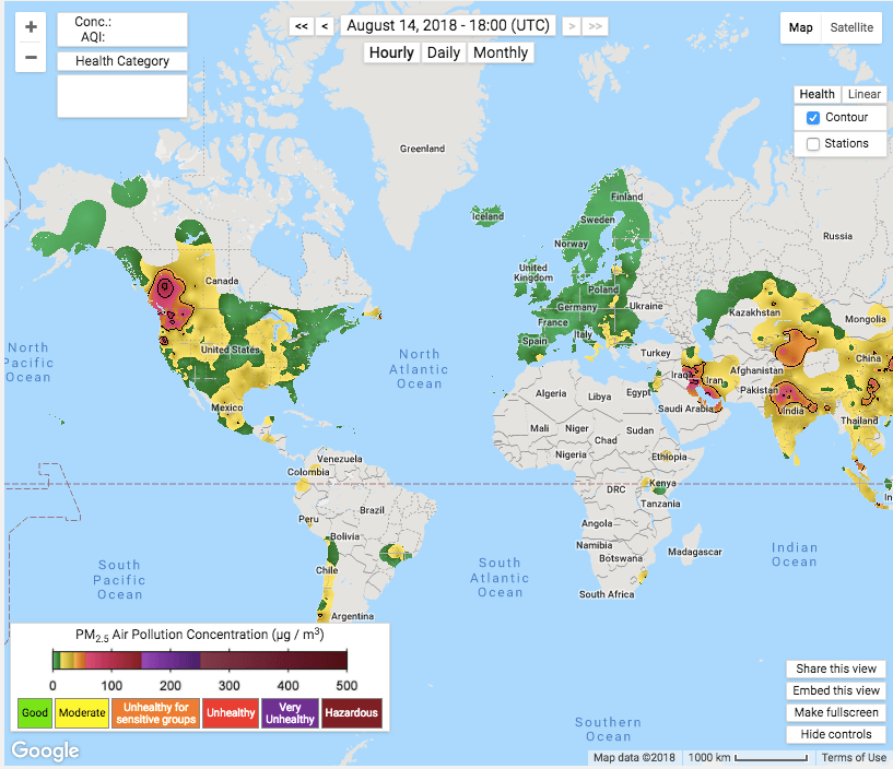 worst air quality