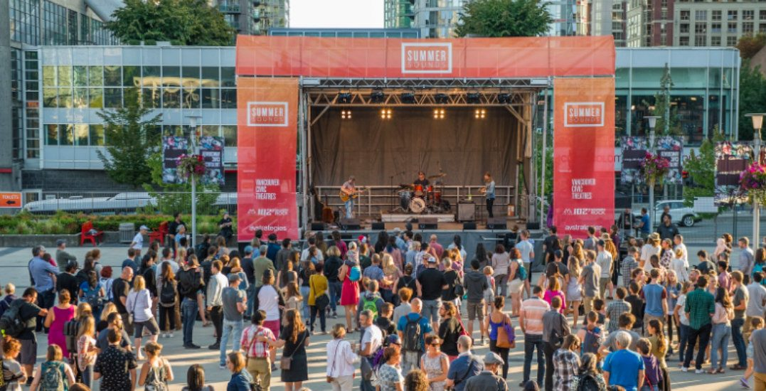 There's a FREE pop-up concert happening in downtown Vancouver