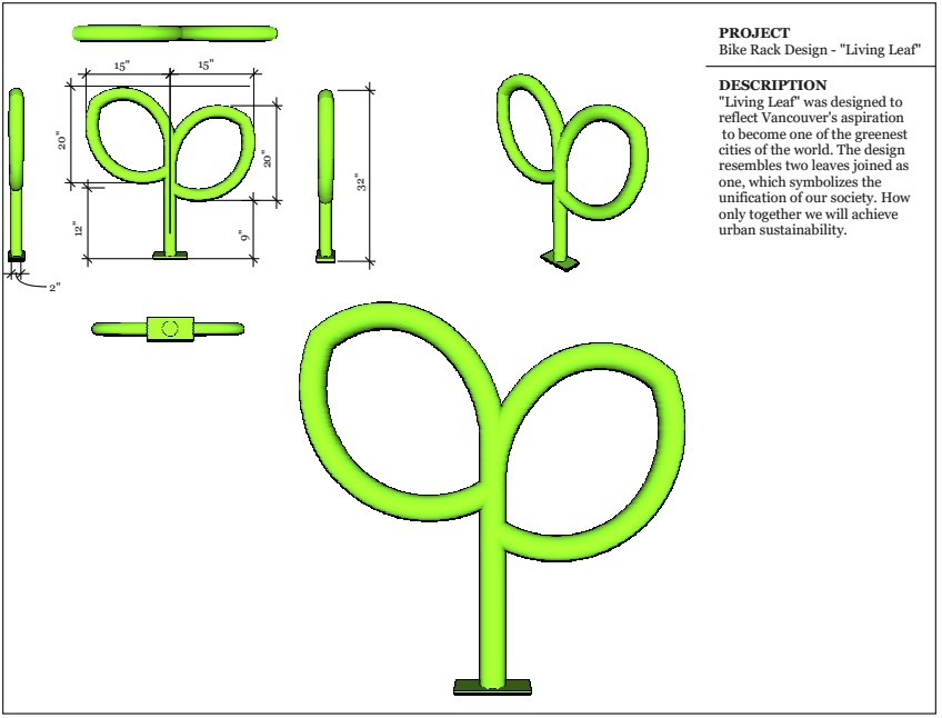 Vancouver bike rack competition