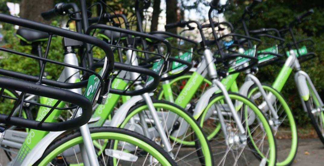 New dockless bike share program with 700 bikes launching in Metro Vancouver