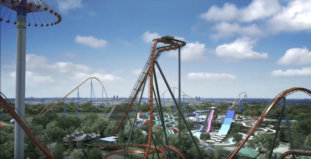 Highest and fastest 'dive' coaster coming to Canada's Wonderland (VIDEOS)