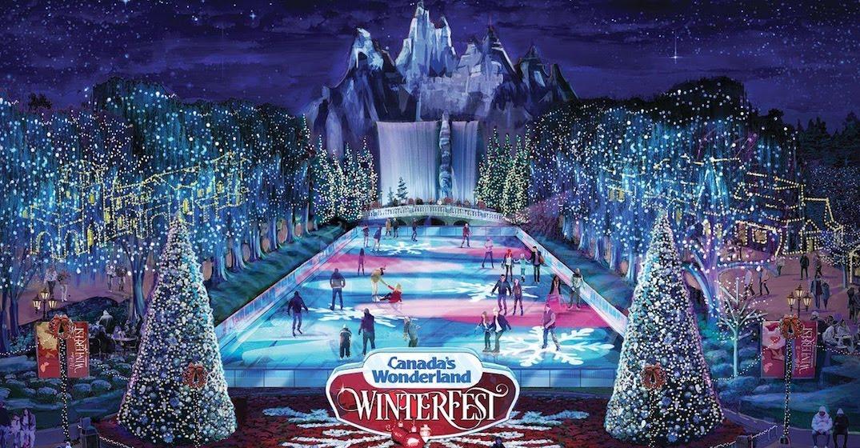 Canada S Wonderland Announces Massive New Winter Festival