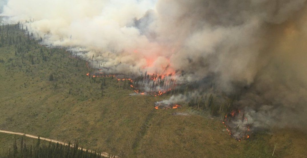 Provincial state of emergency declared over B.C. wildfires
