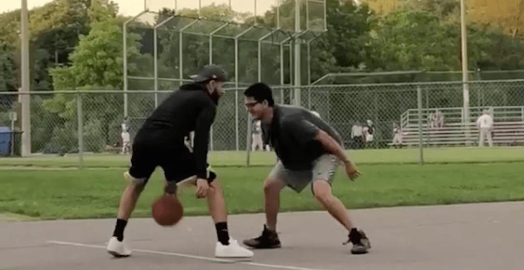 Raptors' VanVleet surprises local ballers with game of pickup basketball (VIDEO)