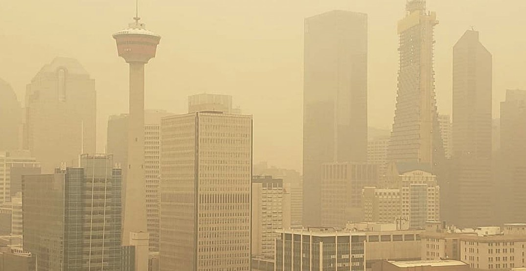 Breathing Calgary air right now equal to smoking more than 7 cigarettes