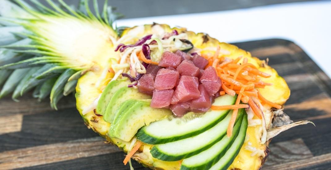 Pineapple poke