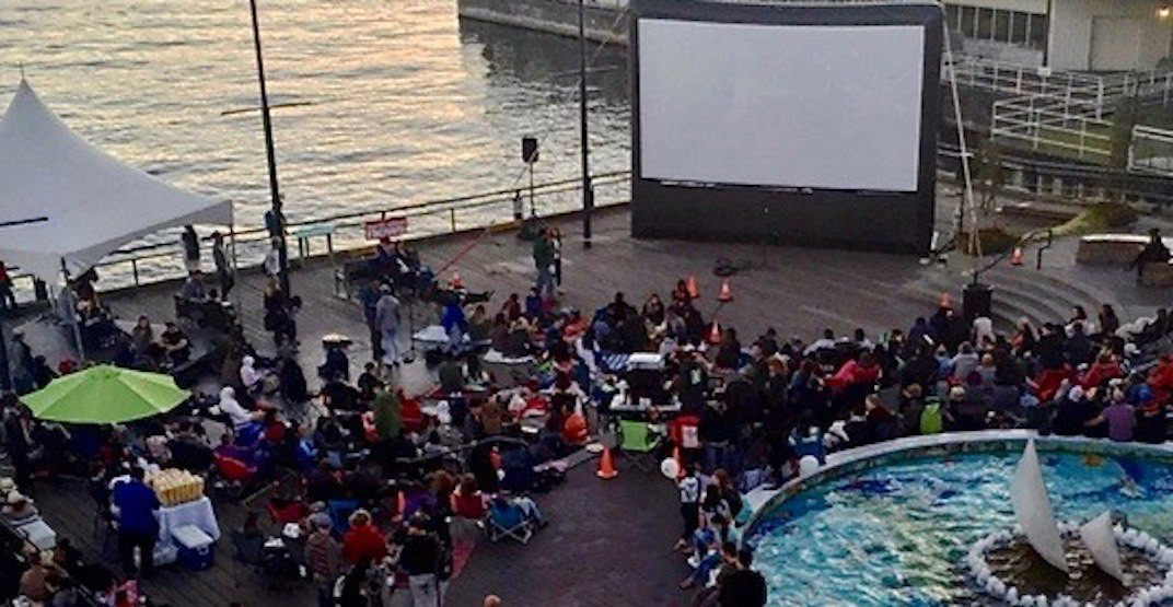 Catch this double feature outdoor movie night at Lonsdale Market