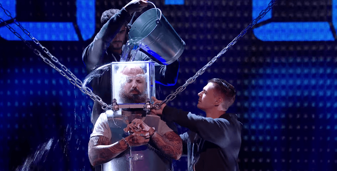 BC man defies death in front of Simon Cowell on Britain's Got Talent (VIDEO)