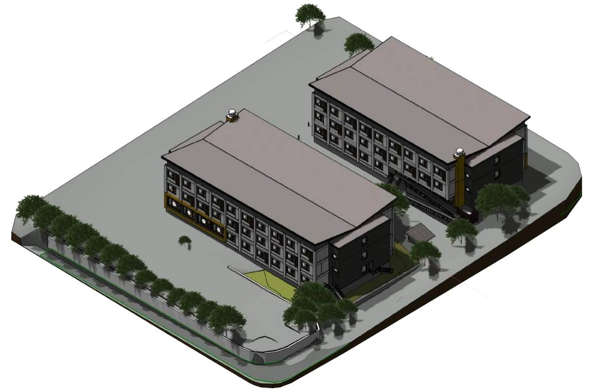 Larwill Park modular housing