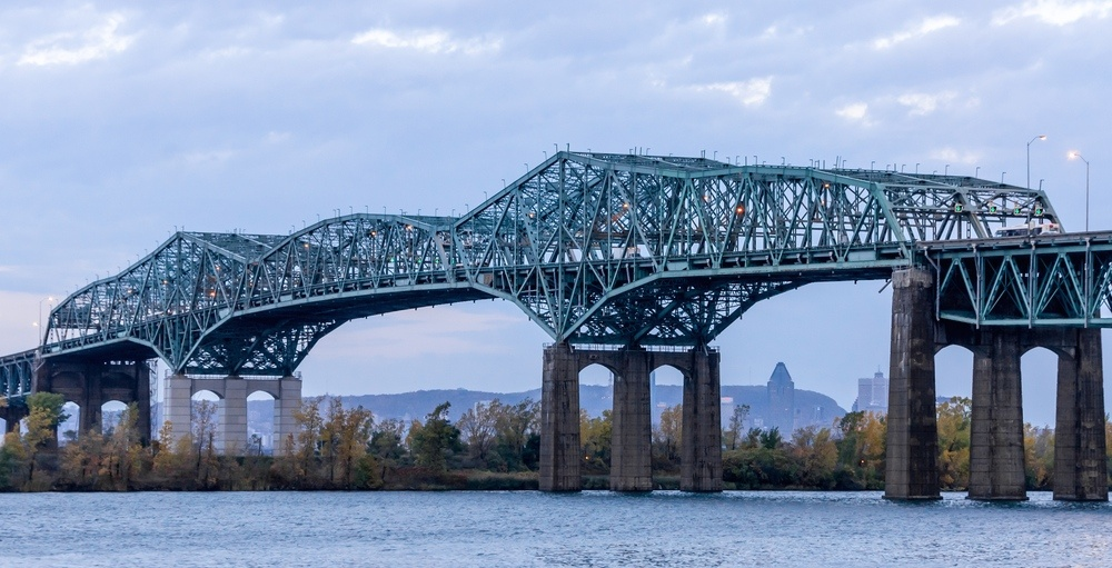 $225M deconstruction of the old Champlain Bridge begins