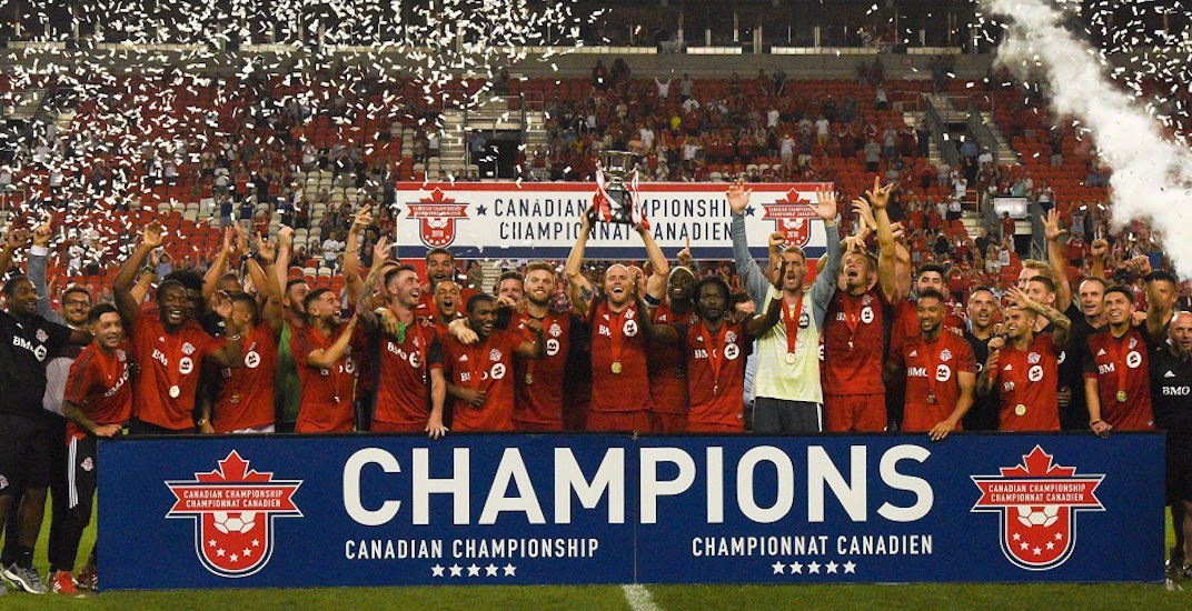Toronto FC destroys Whitecaps to win third-straight Canadian Championship