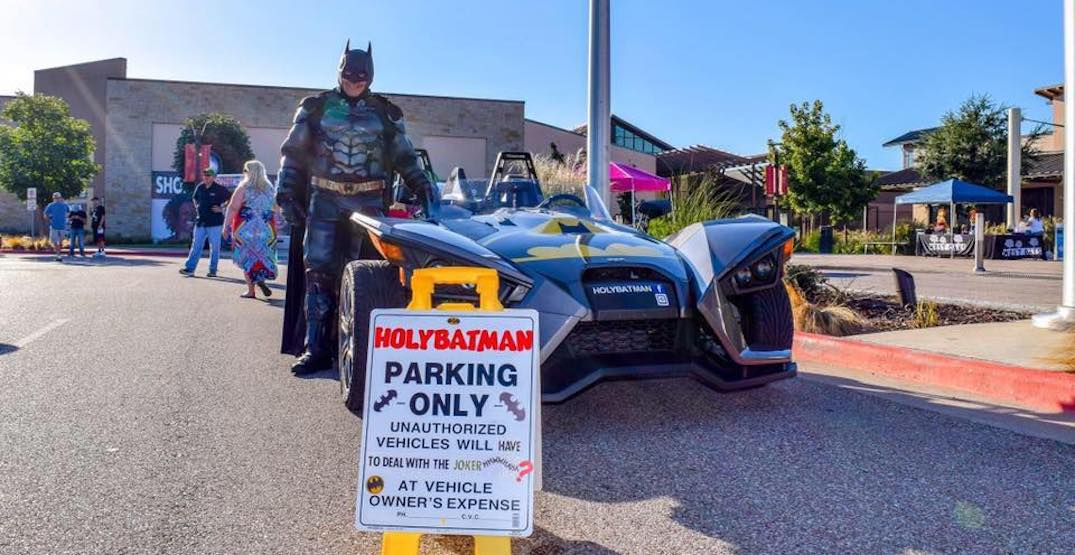Calgary's Batmen work together to give young boy a special birthday