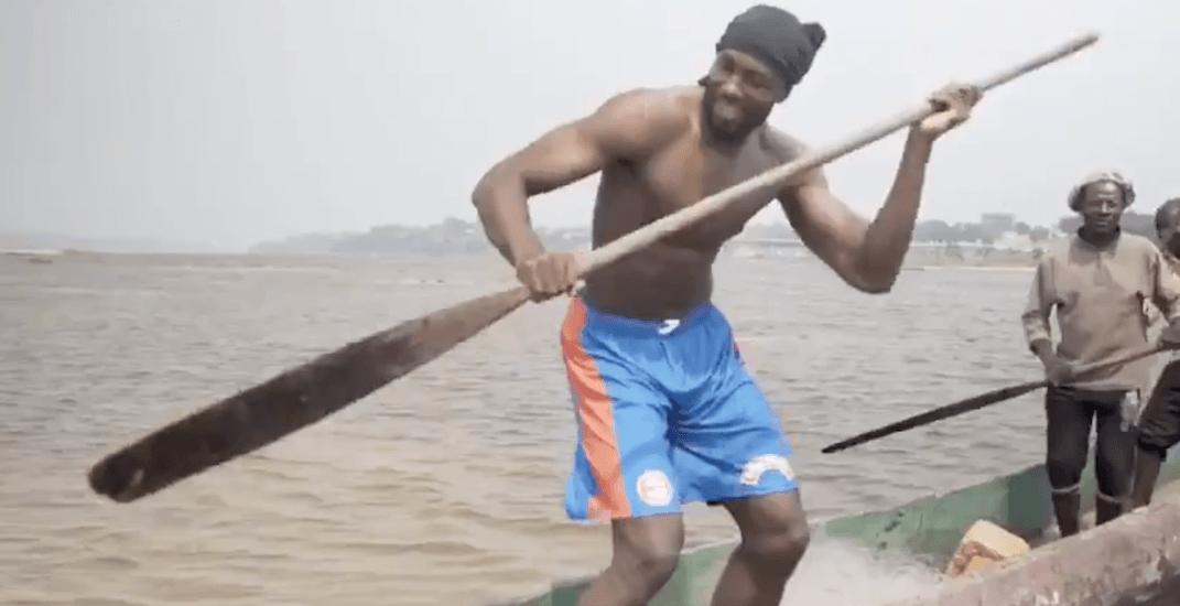Raptors' Ibaka performs #InMyFeelingsChallenge in Congo River (VIDEO)
