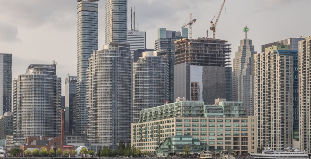 Toronto is currently home to the most cranes in North America