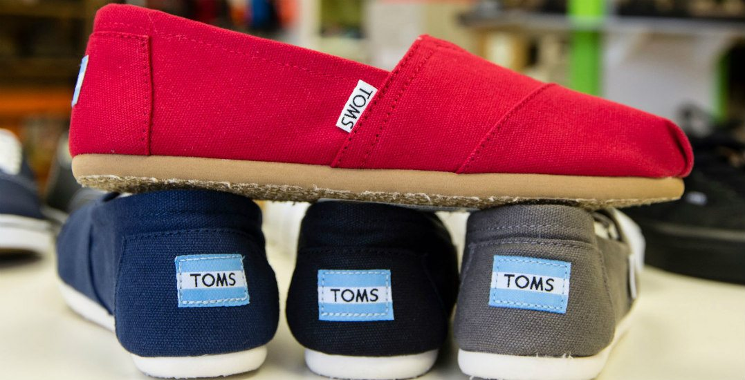 Get up to 70% off at the massive TOMS warehouse sale this week