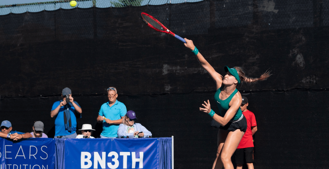 Genie Bouchard upsets No. 1 seed at Odlum Brown VanOpen