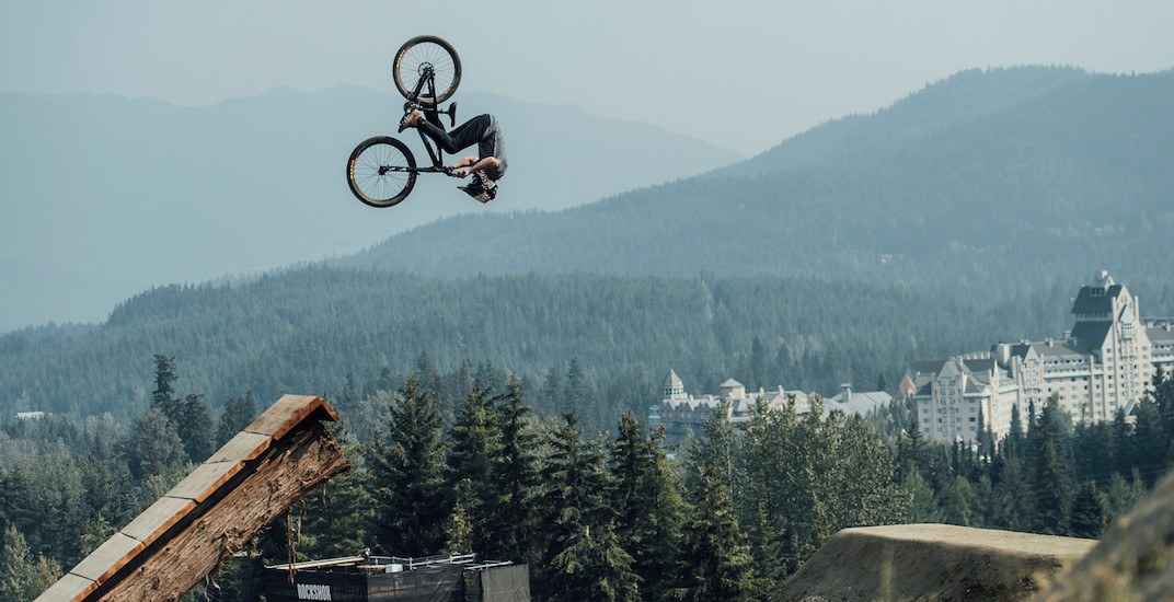 One of the world's biggest mountain bike events is happening in Whistler this weekend