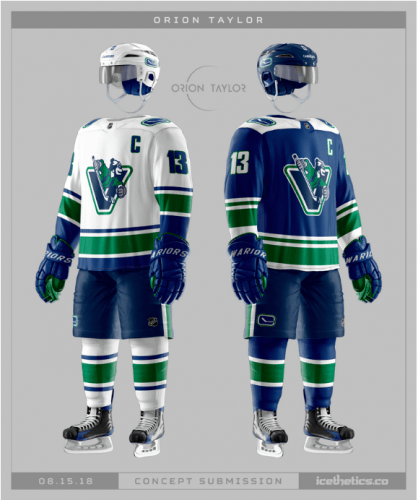 Johnny Canuck jersey