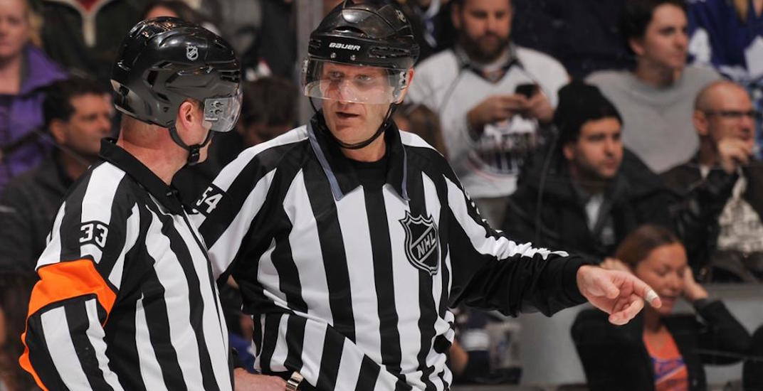 NHL referees get paid more money than you probably think