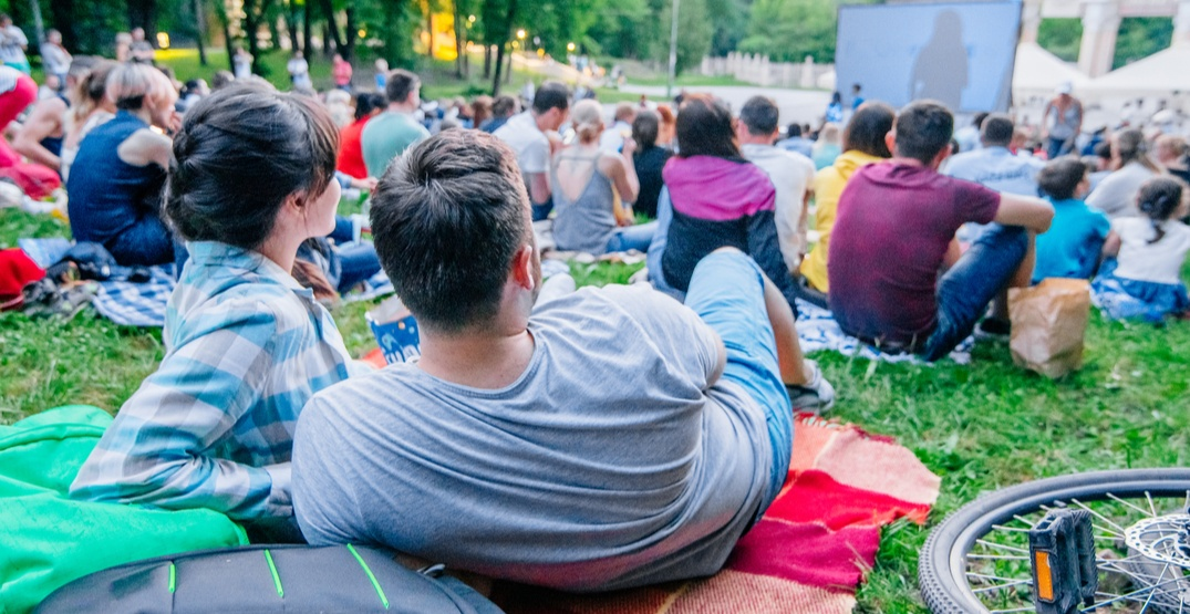 You can watch a free sing-a-long outdoor movie in Lions Bay next week