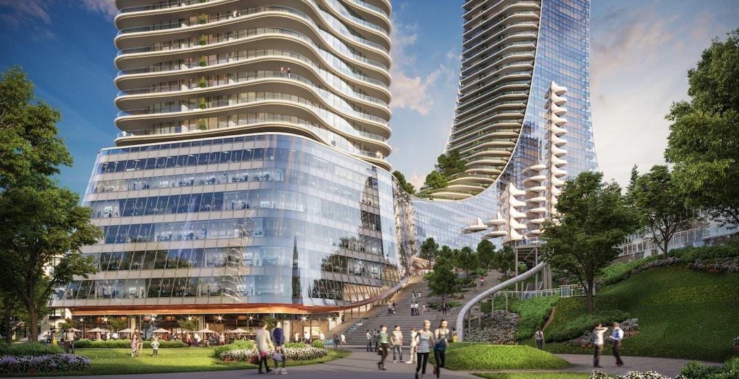 Even more futuristic renderings of the Oakridge Centre redevelopment