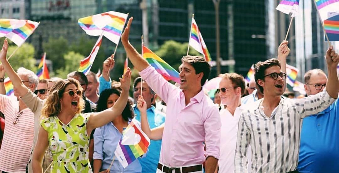 Justin Trudeau joins thousands at Montreal's Pride Parade (PHOTOS)