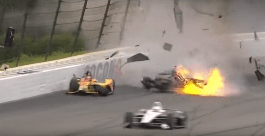 Canadian Indycar driver Robert Wickens involved in violent crash (VIDEO)