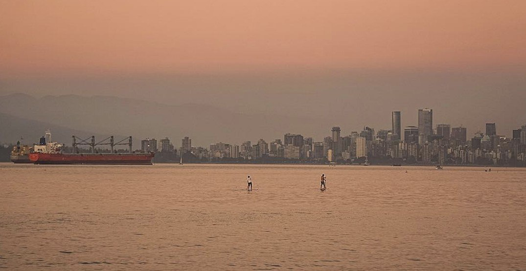 BC wildfire smoke prompts air quality warnings in Western Canada