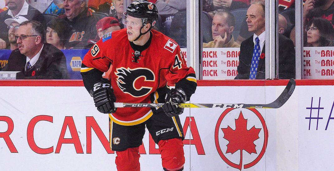 Flames trade Hunter Shinkaruk to Canadiens for Kerby Rychel