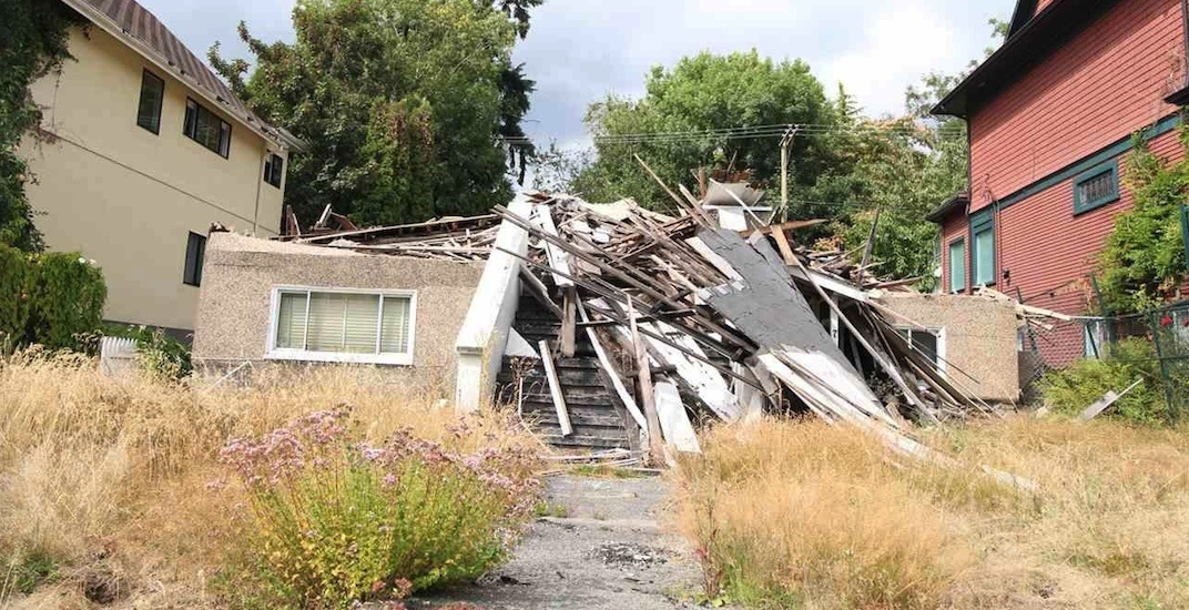 Fire-destroyed Vancouver home listed for $3.99 million