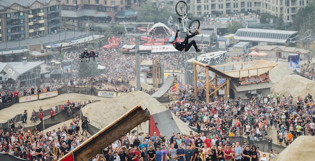 Whistler mountain biking event draws over 35,000 spectators (PHOTOS)