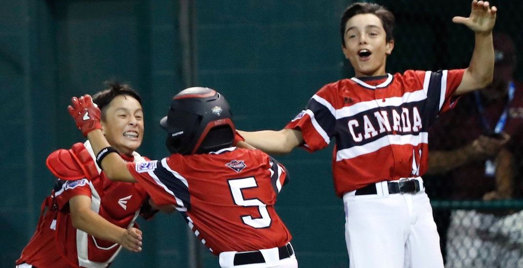 Canada's on a roll at the Little League World Series