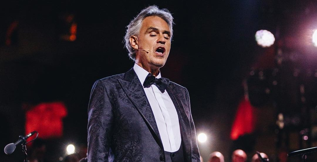 Legendary Italian opera singer Andrea Bocelli to perform in Montreal this fall