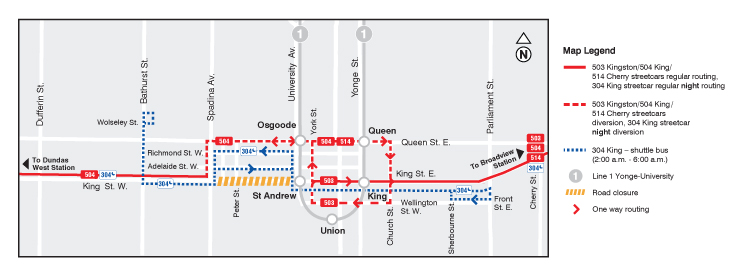 TIFF Road Closures