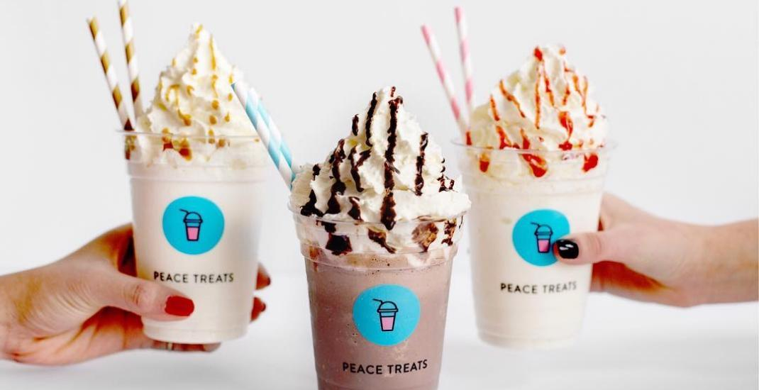 Peace Treats just launched a build-your-own milkshake menu