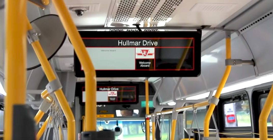 LCD screens coming to over 500 buses on the TTC