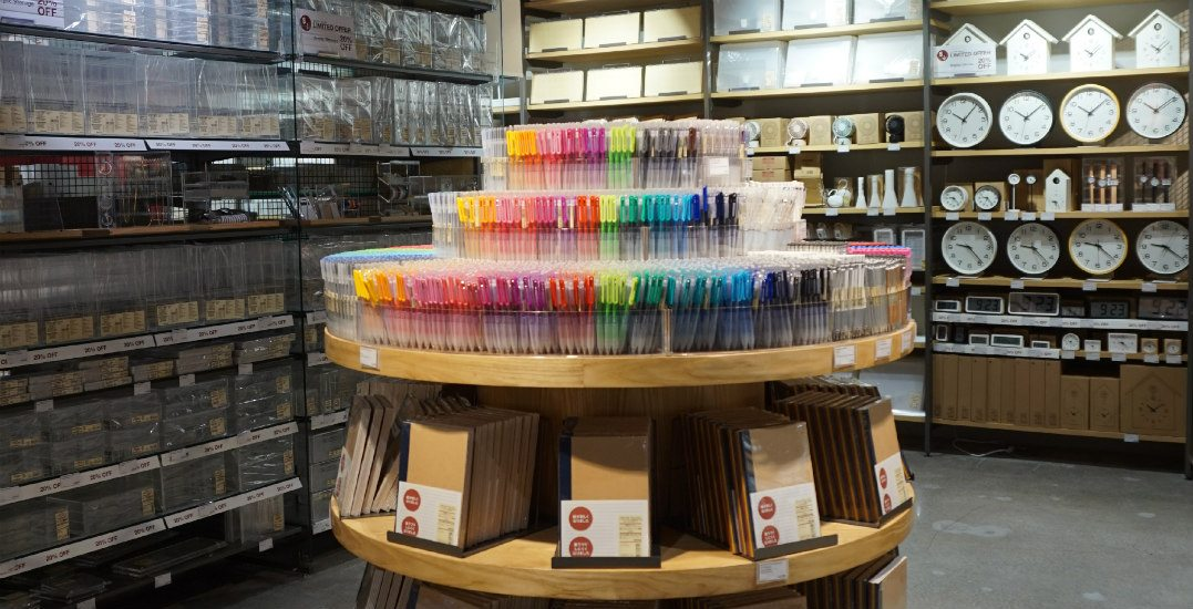 Get ready for school with this limited-time MUJI accessory sale